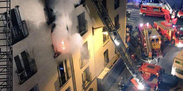 Incendie mortel à Paris : le suspect mis en examen et