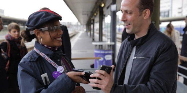 Google Glass dans les TGV : La SNCF et d'autres entreprises françaises s'intéressent aux lunettes