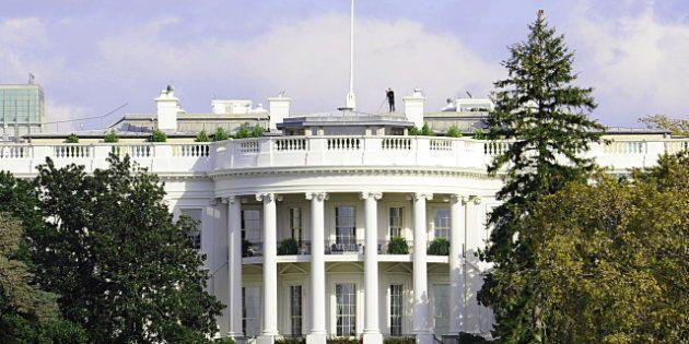 Maison Blanche: un homme arrêté après avoir franchi la