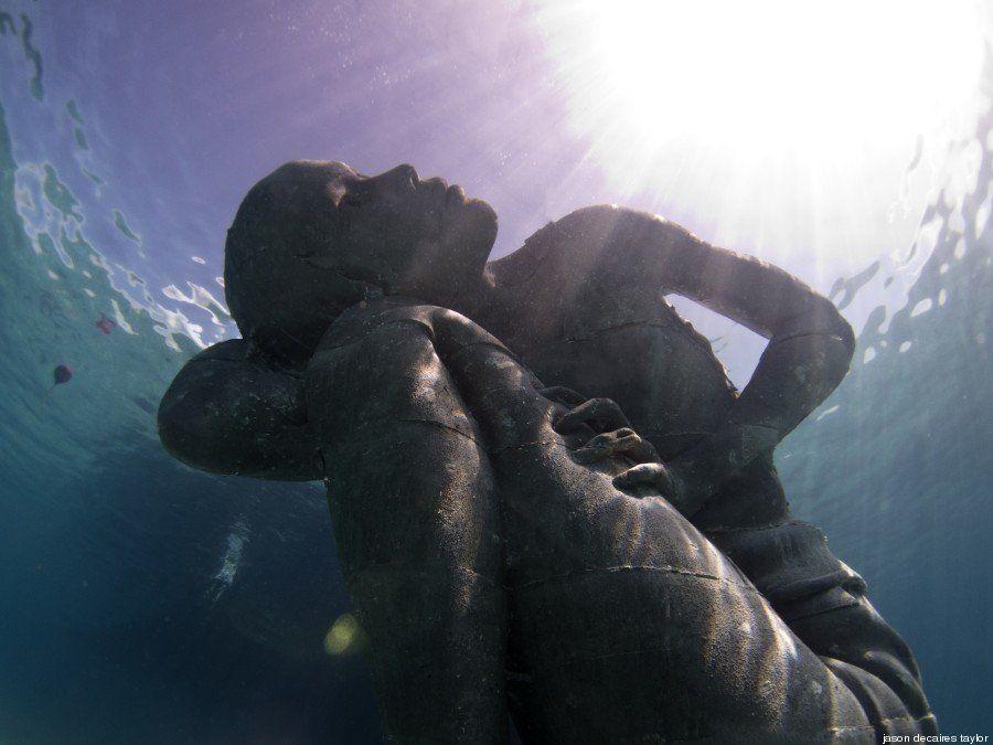 PHOTOS. La plus grande sculpture sous-marine du monde immergée dans les eaux des
