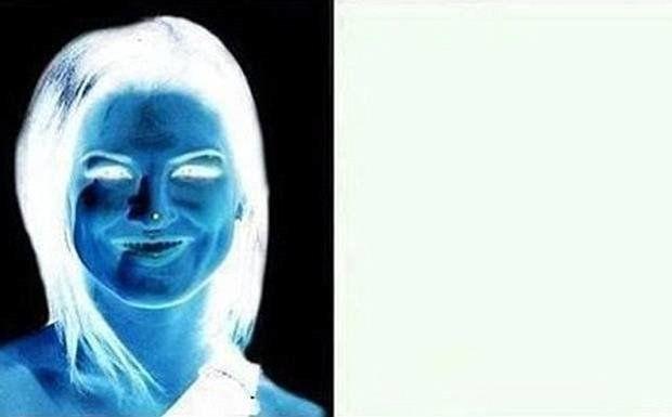 Photo Cette Illusion D Optique Transforme Ce Negatif