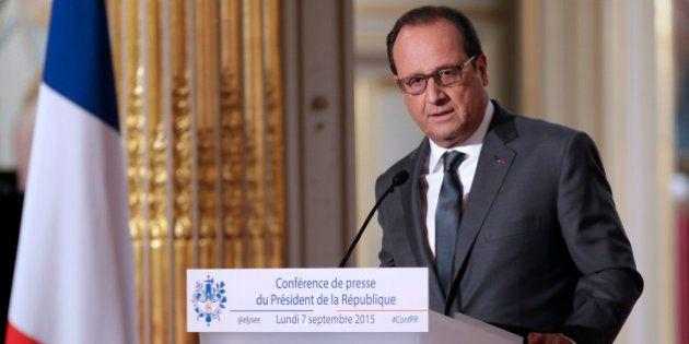 Revivez la sixième conférence de presse de François Hollande et ses principales