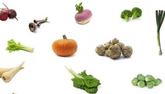 Les légumes d'automne et d'hiver, et comment les
