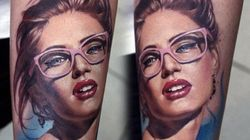 Des tatouages