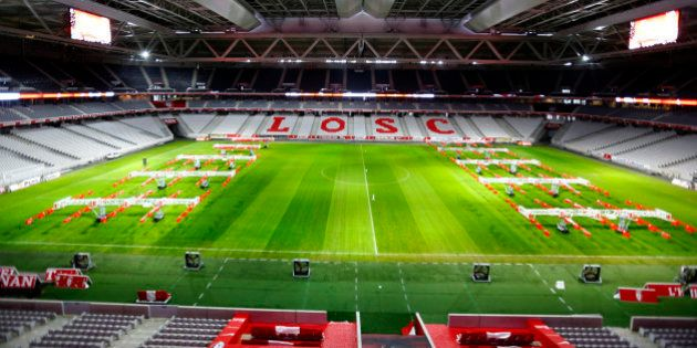 A view shows Stade Pierre Mauroy stadium in Lille, France, February 2, 2016. France will host the Euro...