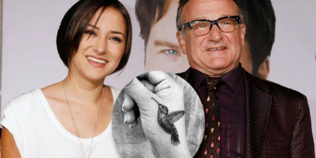 Photo Zelda Williams Devoile Un Tatouage En Hommage A Robin