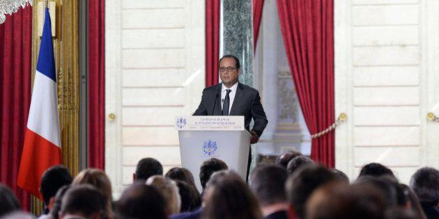 Lors de sa conférence de presse, François Hollande prend le dernier virage avant