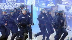 Incidents entre supporteurs et police avant