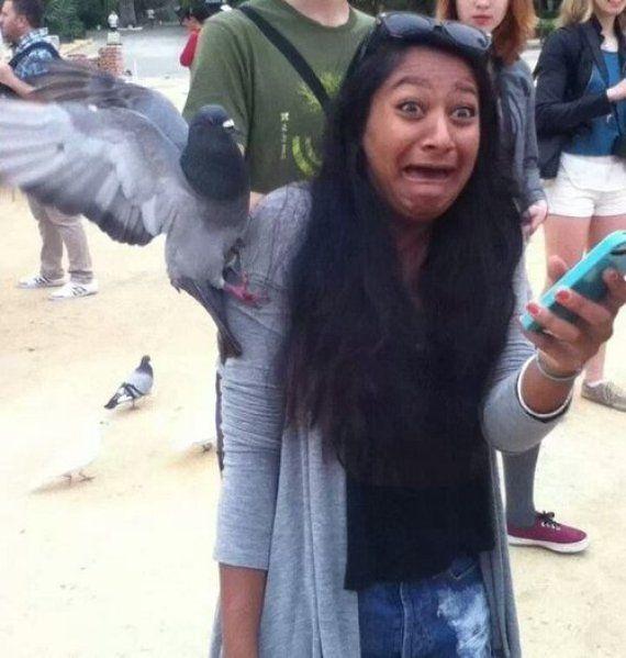 PHOTOS. Les détournements Photoshop d'une jeune fille attaquée par un