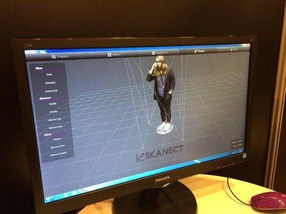 PHOTOS. Scanner 3D: on a testé deux méthodes pour scanner les humains en trois