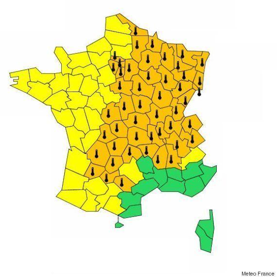 Météo France: la canicule s'étend à de nouveaux départements, les températures pourraient encore