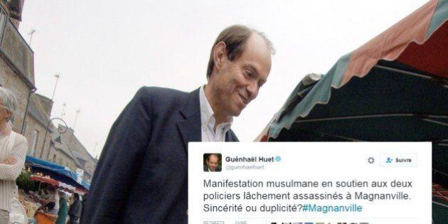 Le soutien de Juppé Guenhael Huet se fait étriller pour un tweet sur les