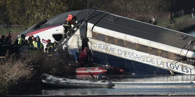 L'accident du TGV reste