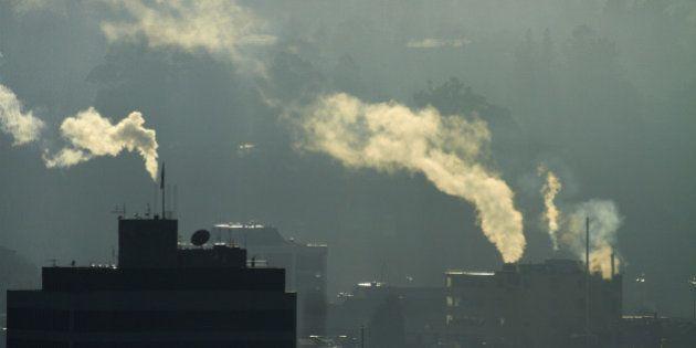 L'accord sur le climat adopté par l'UE prévoit de réduire de 40% les émissions de gaz à effet de serre...