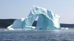 Dans quelques secondes, cet iceberg va