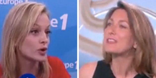 Anne-Claire Coudray ou Audrey Crespo-Mara? Quand elles évoquaient le fait de prendre la place de Claire...