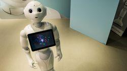 Un robot Pepper agressé par un homme saoul au