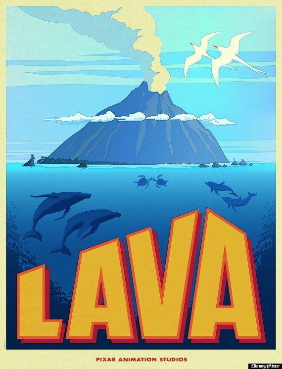 VIDÉO. Pixar prépare un court métrage qui sera une comédie musicale sur la vie d'un volcan
