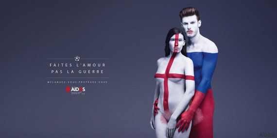 La campagne haute en couleurs d'AIDES pour l'Euro