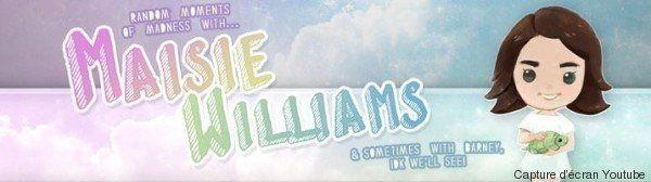 VIDÉO. Maisie Williams lance sa chaîne