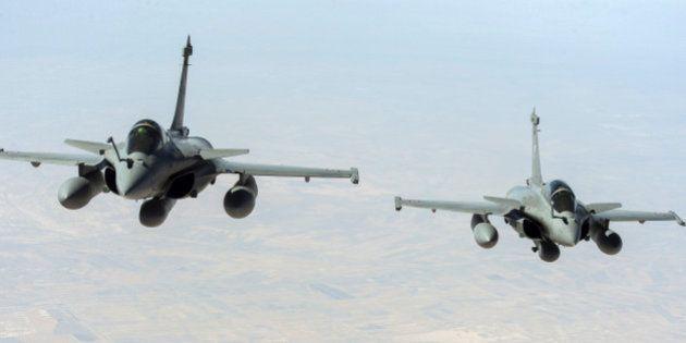 Syrie: la France a effectué ses premiers vols de