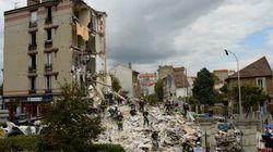 Un immeuble s'effondre à Rosny-sous-Bois, 4