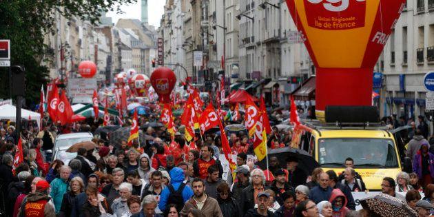 Défilés du 1er mai: tour de chauffe réussi pour les syndicats malgré leur