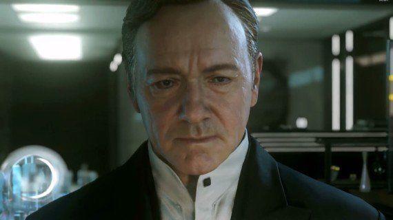 VIDÉO. Call of Duty: Advanced Warfare: Kevin Spacey va menacer la Maison