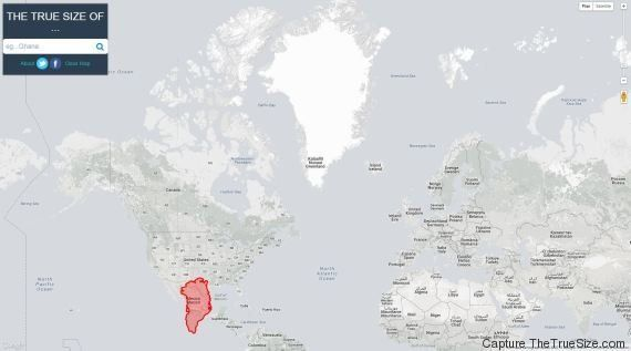 La Vrai Carte Du Monde Peters