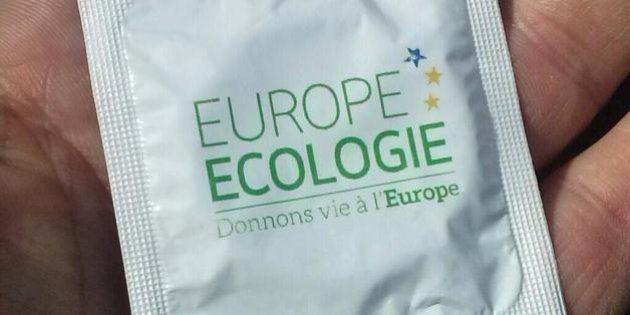 Les préservatifs d'EELV pour les européennes font réagir les