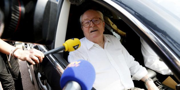 Jean-Marie Le Pen de retour au siège du Front