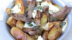 Vite fait, Bien fait: Salade de bœuf, pommes de terre et