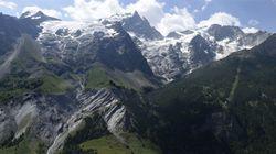 Les Alpes s'écroulent à cause du réchauffement