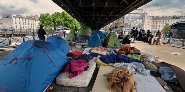 Le camp humanitaire pour migrants à Paris sera installé près de la porte de la