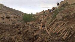 Le glissement de terrain aurait fait au moins 300 morts en