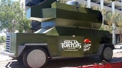 Le canon à pizzas des Tortues Ninja devient