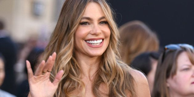 Sofia Vergara arrives at the Los Angeles premiere