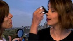 Raccord maquillage... en plein JT sur France