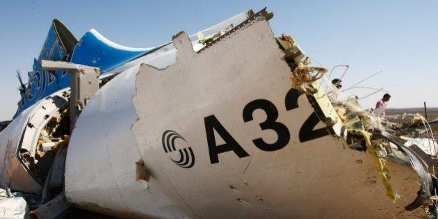 Le crash de l'avion russe en Égypte était bien un