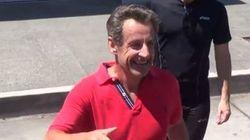 Ces touristes ont réussi à arrêter le jogging de Sarkozy à Beverly