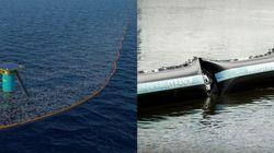 Le prototype pour dépolluer les océans a été