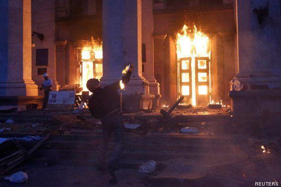 Ce que l'on sait du drame d'Odessa, une manigance russe