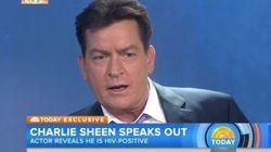 Charlie Sheen révèle en direct qu'il est