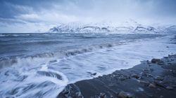 Ces vagues dans l'océan Arctique sont une très mauvaise