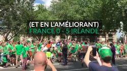VIDÉO - Avant France-Irlande, 0-10 pour les supporters en