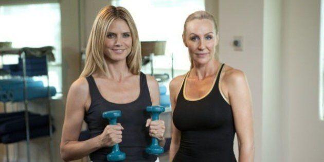Conseils fitness : la coach des stars, Andrea Orbeck, partage les secrets de l'entraînement de Heidi