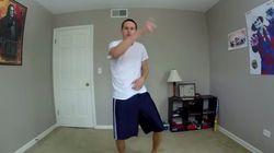 Il se filme en train de danser pendant 100 jours, voici le
