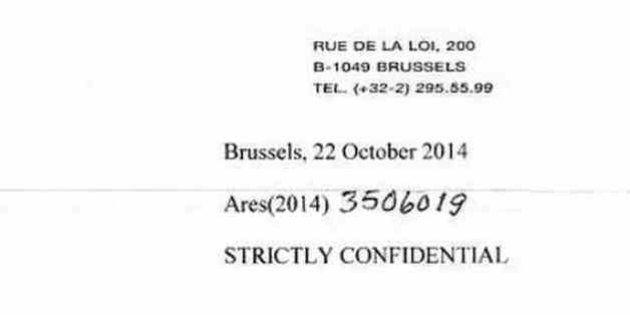 Lettre de la Commission européenne: quel est ce mystérieux pli qu'Hollande refuse de publier