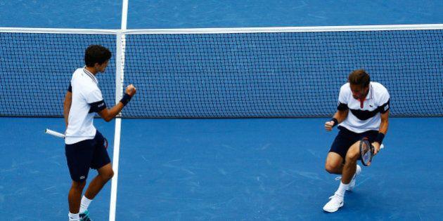 Finale de l'US Open 2015: Nicolas Mahut et Pierre-Hugues Herbert remportent le tournoi en