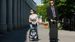 La valise à roulettes du